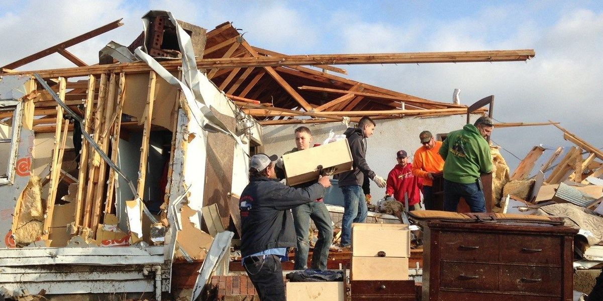 How to help tornado victims in Perryville