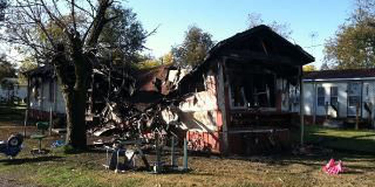 Family homeless after Parma mobile home fire
